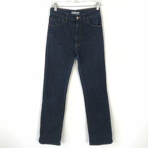 Acne Jeans Denim High Rise Straight Leg